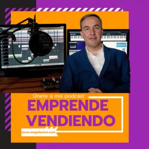 Portada de Emprende vendiendo  by Ángel Sainz